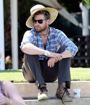 Laid back Scott Speedman