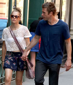 Scott Speedman with girlfriend Teresa Palmer