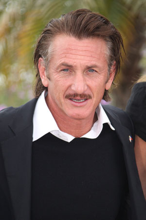 Sean Penn is mad over Haiti