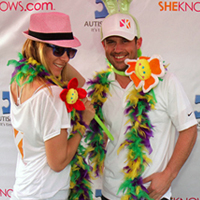 SheKnows team at autism walk
