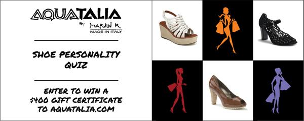 Shoe personality quiz