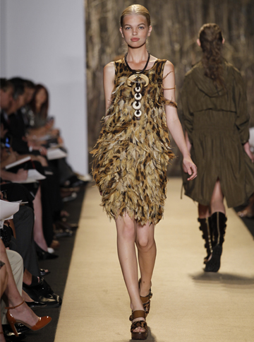 Michael Kors' Spring Collection dress