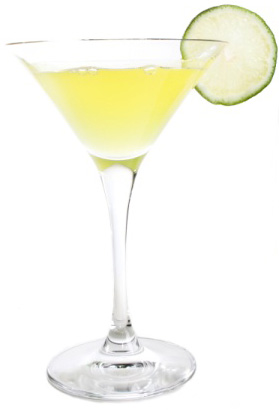 Low-calorie margarita