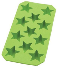 Star shaped ice cube tray
