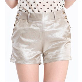 Gold Dust Shimmer Shorts ($34)