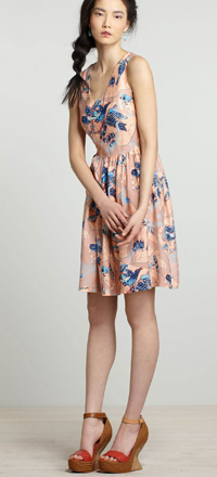 Anthropologie Macquarie Dress