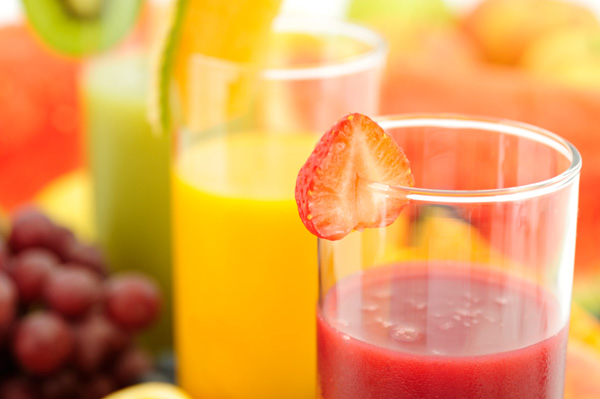 fruit smoothies trio