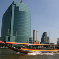 Ride on the Chao Phraya River