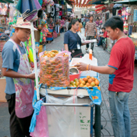 Eat street food – lots of it