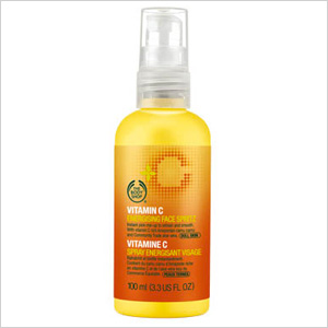 Energizing face spray