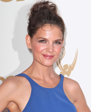 Katie Holmes' top knot