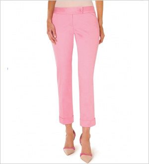 Drew Stretch Sateen Ankle Pant