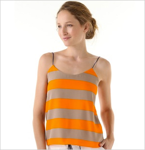 Striped camisole