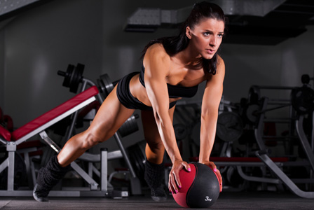 Woman doing speedx workout