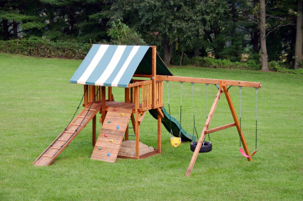 There Are Also Smaller Swing Sets Available For Smaller Spaces, As Well As  Climbing Domes And Trampolines (with Safety Net) That Are Great Options For  Kids ...
