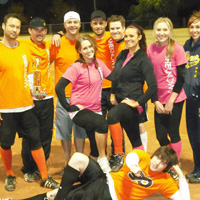 SheKnows softball team
