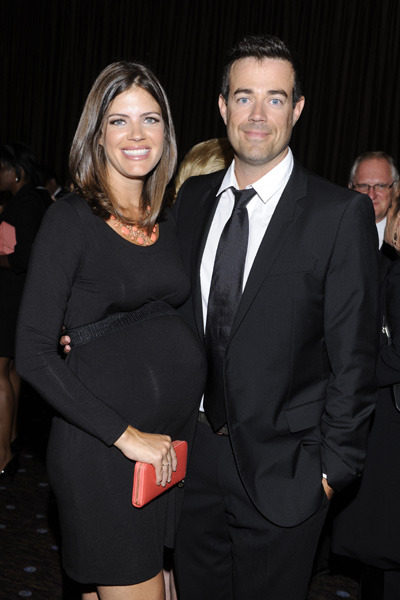 Carson Daly and pregnant wife Siri Pinter