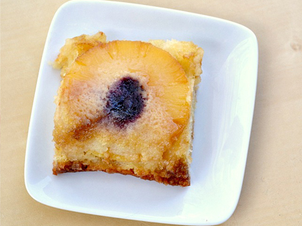Boozy pineapple upside down cake