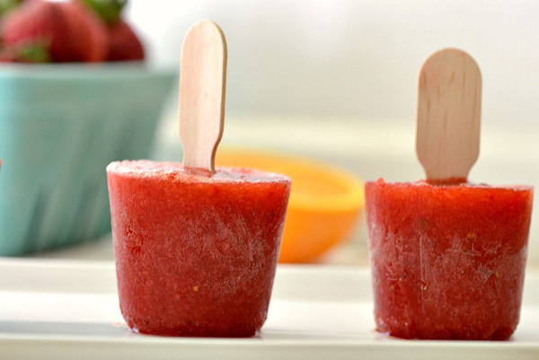 Strawberry orange PAMA pops