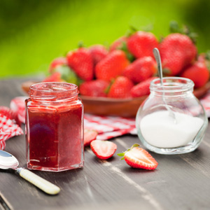 Strawberry ginger jam