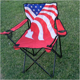 Stars and Stripes Patriotic Chairs