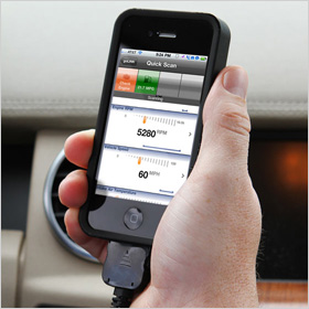 GL1 Vehicle diagnostics for iPhone or iPad