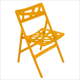 Cyclone indoor/outdoor folding chair