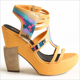 Out of Town Platform Heels, $72.00 at threadsence.com