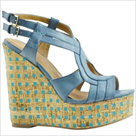 HeartSOUL Fawn in Turquoise, $49.99 at bakersshoes.com