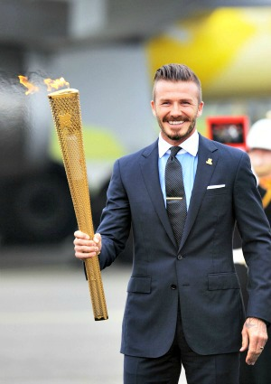 David Beckham Olympic Bid