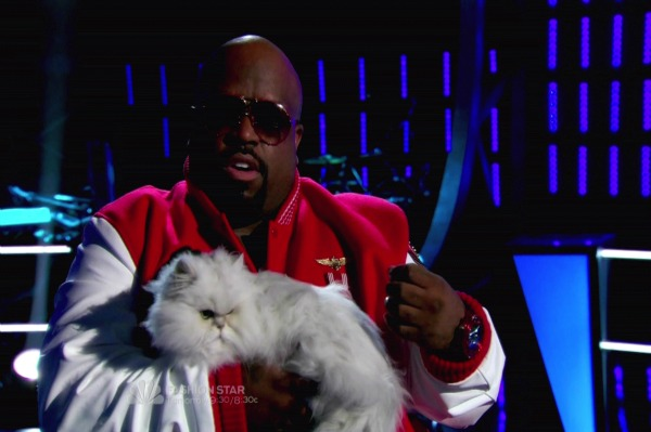 Cee Lo Purrfect Out