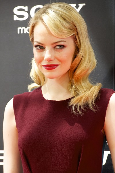 Emma Stone, Spiderman premiere in Spain