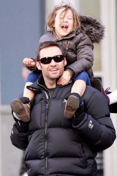 Hugh Jackman with Daughter Ava