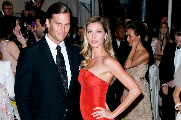 Tom Brady and Gisele Bundchen at Metropolitan Museum of Art in NYC