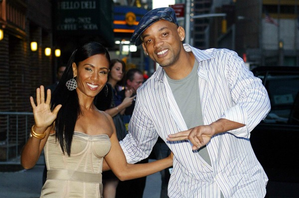 Will Smith and Jada Pinkett Smith in NYC for Late Show with David Letterman