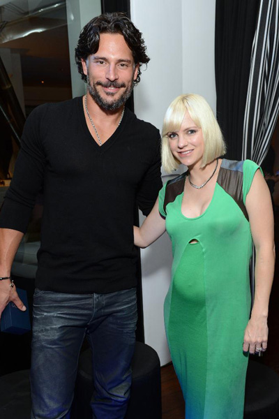 Pregnant Anna Faris and Joe Maganiello
