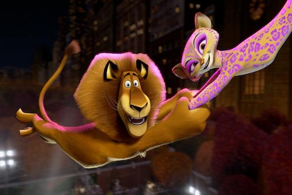 Madagascar 3 lion trapeze