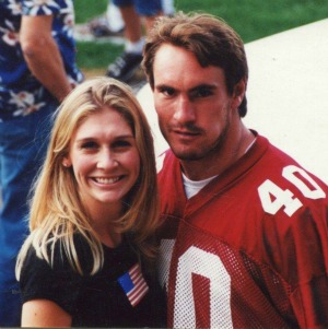 Marie and Pat Tillman