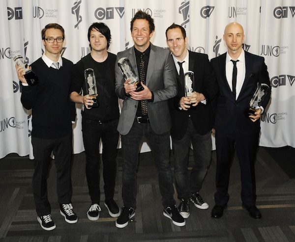 Simple Plan Juno Awards