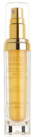 Serious Shimmer Cooling Spray from Hampton Sun®.