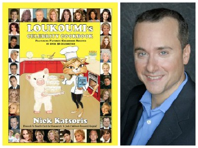 Loukoumi's Celebrity Cookbook and author