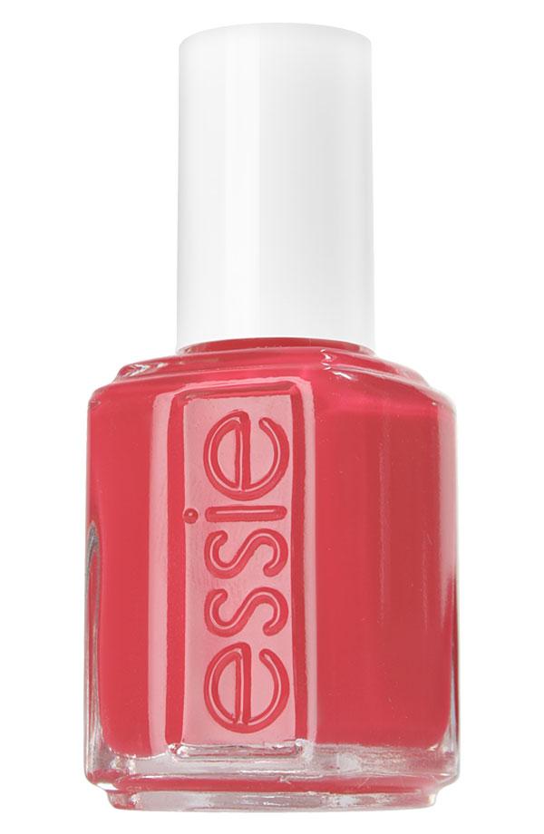 Essie coral nail polish