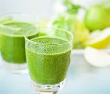 Cleanse, green smoothies
