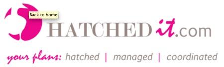 hatched banner