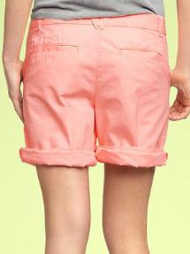 boyfriend rollup shorts