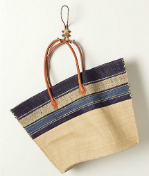 straw tote bag