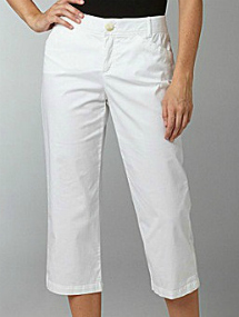 white capris
