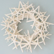 beachy wreath
