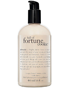 fortune cookie lotion