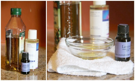 wash your face with oil ingredients